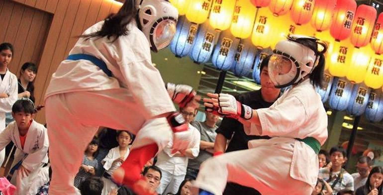 「画像①:バンコクで空手を習うならタイ禅道会」